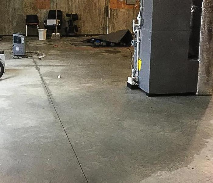 Sewage Damage at Local Business