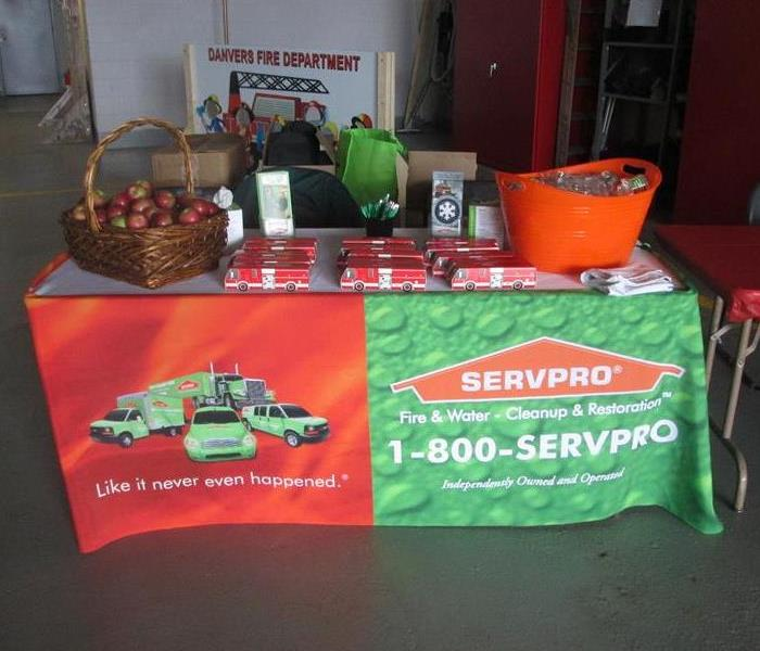 Community SERVPRO along with Local Fire Departments Raise Awareness about Fire Prevention